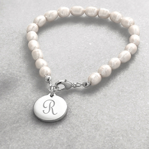 Personalized Simplicity Pearl Bracelet imagerjs