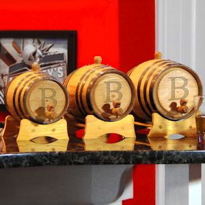 Bluegrass Personalized Whiskey Barrels (3 Sizes) imagerjs