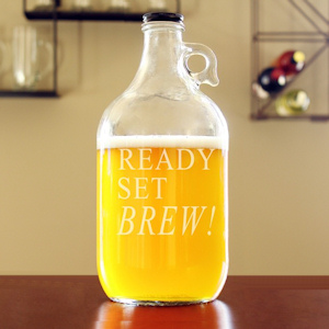 Ready Set Brew! Glass Growler imagerjs