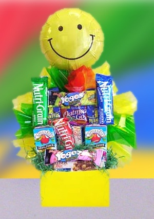 Sending A Smile Healthy Snacks Gift image