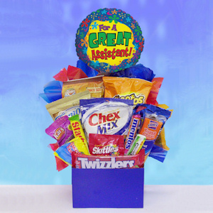 Happy Assistant Day Snack Basket imagerjs
