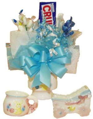Ceramic Baby Candy Bouquet data-pin-no-hover=