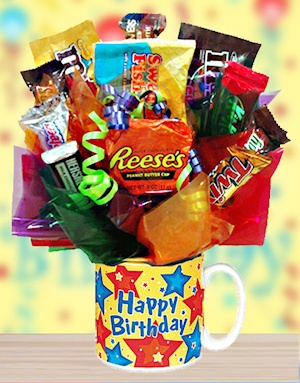 Happy Birthday Candy Mug for Him imagerjs