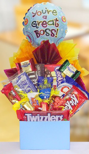 Boss Day Delight Basket image