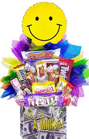 Thanks A Million Candy Basket imagerjs