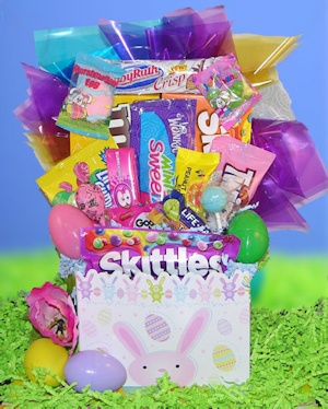 Just for Fun Easter Candy Gift Basket image