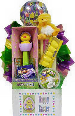 Giant Pez Chick Basket data-pin-no-hover=