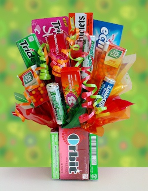 Orbit Gum and Candy Bouquet imagerjs