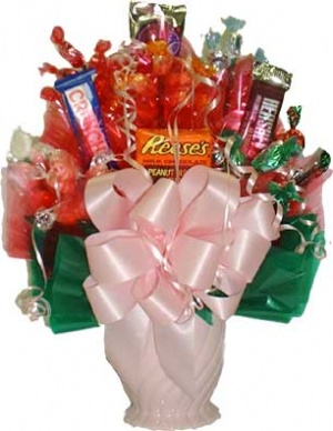 Sweet Assortment Candy Bouquet data-pin-no-hover=