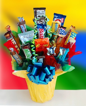 The Chocoholic Candy Bouquet imagerjs