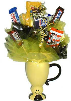 Smiley Pedestal Mug Bouquet data-pin-no-hover=