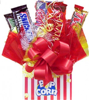 Poppin' Good Time Candy Bar Bouquet image