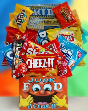 Junk Food Candy and Snack Bouquet imagerjs