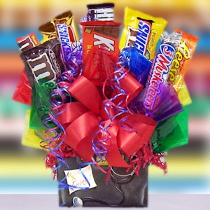 Get Well Doctor Box Candy Bar Bouquet imagerjs