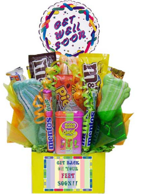 Get Back On Your Feet Candy Bouquet imagerjs