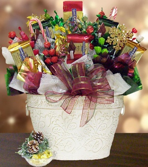 Winter Elegance Candy Bouquet image