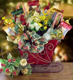 Grand Sleigh Candy Gift Bouquet imagerjs