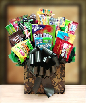 Camouflage Fun Candy Basket imagerjs