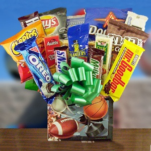 All Sport Candy & Snack Bouquet imagerjs