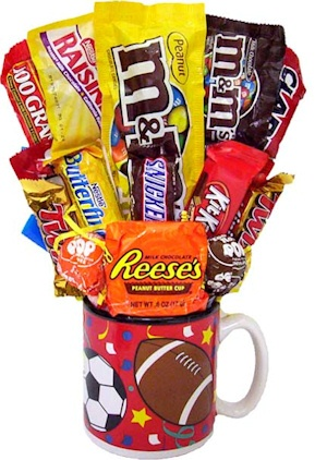 All Sports Candy Bouquet imagerjs