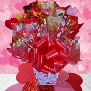 Classic Valentine Candy Bouquet imagerjs