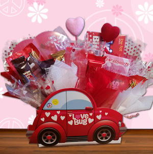 Valentine Love Bug Candy Gift Bouquet imagerjs