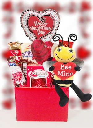 BEE Mine Valentine Candy Basket imagerjs