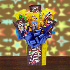All M&M Candy Bouquet Delete imagerjs