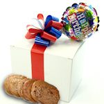 Cookie Box with Birthday Balloon Gift
