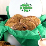 St. Patrick's Day Cookie Tin
