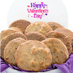 Happy Valentine's Day Cookie Tin