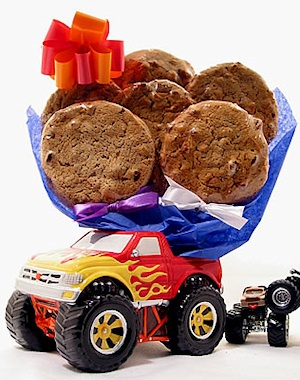 Monster Truck Cookie Planter imagerjs