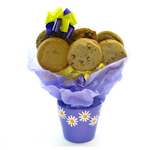 Daisy Planter Cookie Gift Basket