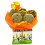 Birthday Tote Box Cookie Bouquet