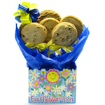 Get Well Tote Box Cookie Bouquet