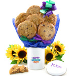 Nurse's Day Cookie Tin Bouquet