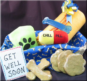 Bow Wow Boo Hoo Gift Basket imagerjs