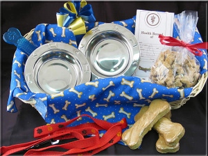 Welcome 'Wagger' Dog Gift Basket imagerjs