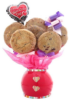 Valentine Jar Bouquet of Cookies imagerjs