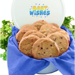 Best Wishes Gourmet Cookie Tin