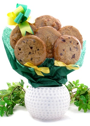Golf Planter Cookie Bouquet imagerjs
