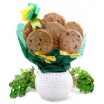 Golf Planter Cookie Bouquet
