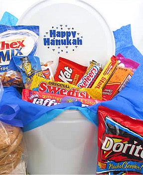 Happy Hanukkah Snack Tin data-pin-no-hover=