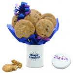 Happy Hanukah Tin Bouquet of Cookies