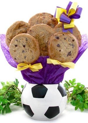 Soccer Planter Cookie Arrangement imagerjs