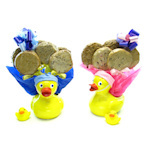 Ducky Planter Bouquet of Cookies