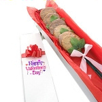 Longstem Valentines Cookie Gift Box