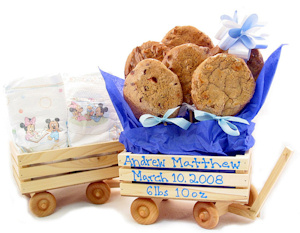 Wood Wagon Cookie Gift imagerjs