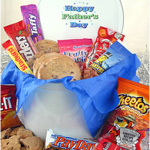 Father's Day Tin of Cookies and Goodies
