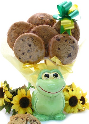Friendly Frog Cookie Planter imagerjs